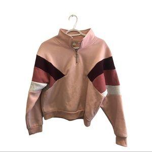 Colour block pullover